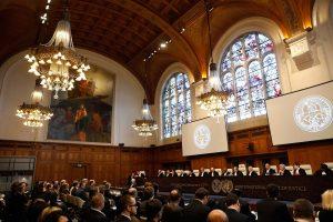 Tarptautinis teismas pradėjo nagrinėti Ukrainos ieškinį prieš Rusiją
