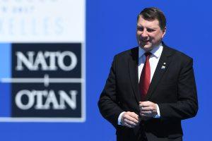 Latvijos prezidentas: NATO reikia dialogo su Rusija