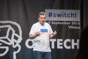 """""""#SWITCH2017"""" tikisi dialogo su Kauno verslu (renginio programa)"""