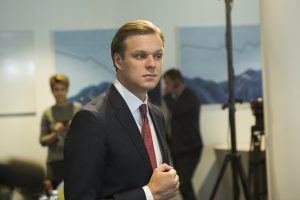 """G. Landsbergis apie """"valstiečius"""": jie nori likti valdžioje bet kokia kaina"""