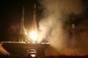 Rusijos krovininė kapsulė išskrido į kosminę stotį