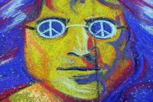 Sostinėje paminėtas J. Lennono gimtadienis
