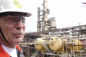 Ekskursija po vienintelę naftos perdirbimo gamyklą Baltijos šalyse (vaizdo įrašas)