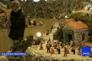Didžiausia Kalėdų prakartėlė? Prancūzijos miestelis siekia pasaulio rekordo