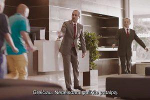 Sužinokite: lietuviškame filmuke paaiškino, kaip elgtis per išpuolį