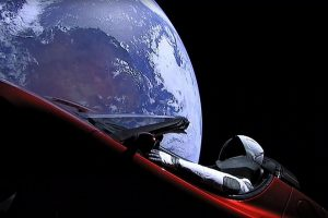 Ar įmanoma iš Žemės pamatyti Starmaną?