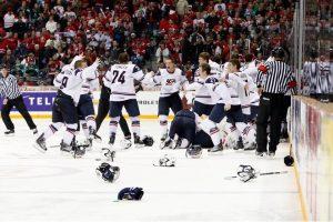 Triumfavę JAV ledo ritulininkai – pasaulio čempionai