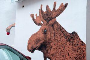 Kauno kiemuose – dar daugiau piešinių