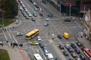 Sostinėje gatvių ženklinimui skirs 2,7 mln. eurų