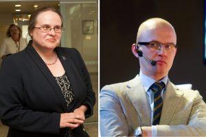 Naujas A. Širinskienės ėjimas: E. Jakilaitį apskundė VMI
