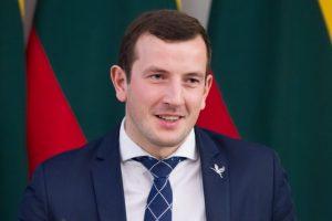 Jauniausiu ministru tapęs V. Sinkevičius: siekti karjeros geriausia Lietuvoje