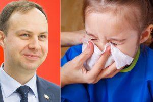 A. Verygos požiūris į sloguojančius vaikus sukėlė nerimą: darželiai taps ligoninėmis?