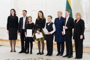 Lietuva didžiuojasi jaunaisiais talentais
