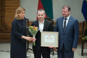 Vyriausybėje įteiktos kultūros ir meno premijos