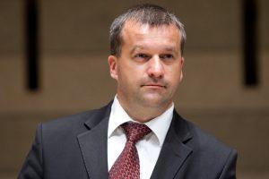 R. Klovas paliko Aplinkos ministerijos kanclerio postą