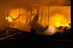 Per gaisrą Panevėžyje apdegė du žmonės
