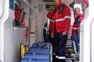 Iš taromato į ligoninę vežta moteris mirė greitosios automobilyje