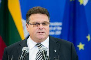 L. Linkevičius: tikimės, kad Baltarusija negrįš prie politinių kalinių