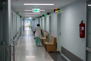 Kalvarijos ligoninės personalas du mėnesius negauna algų