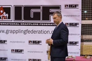 Graplingo federacija išrinko naują prezidentą