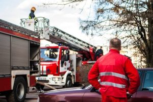 Šilalės rajone degė namas, nukentėjo žmogus