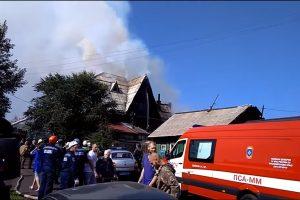 Rusijos senelių namuose – tragiškas gaisras