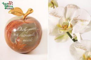 Orginalios dovanų idėjos: sveikinimo žodžiai ant orchidėjos žiedlapio