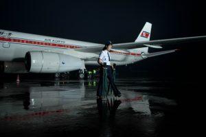 Užsidegė į Pekiną skridęs Šiaurės Korėjos lėktuvas