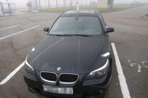 Vilniuje pavogtas BMW surastas Kaune