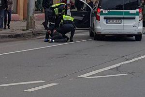 E. Ožeškienės gatvėje – žaibiškas įtariamojo sulaikymas
