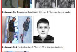 Vokietijos policija prašo pagalbos: už informaciją apie plėšikus – piniginė premija
