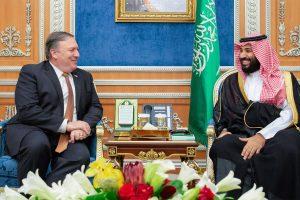 M. Pompeo Saudo Arabijos sosto įpėdiniui: žurnalisto žudikai atsakys už savo veiksmus