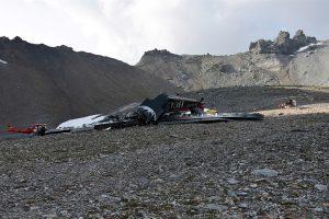 Šveicarijoje nukrito senovinis lėktuvas, žuvo 20 žmonių
