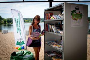 Šią vasarą poilsiautojams Kaune – net dvi paplūdimio bibliotekos