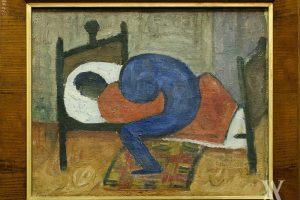 Vilniaus aukcionas: A. Samuolio drobė liko neparduota