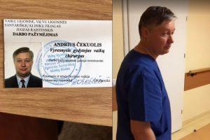 Akibrokštas Santaros klinikose: vaikų gydytojas darbe vaikščiojo girtas? (papildyta)