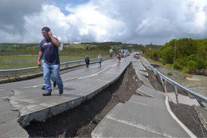 Fidžį supurtė dar vienas stiprus žemės drebėjimas