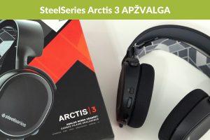 """Pigiausias """"Arctis"""" ausinių modelis – neprastesnis už brangius"""
