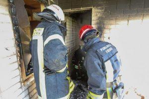 Per gaisrą Vilkaviškio rajone žuvo moteris