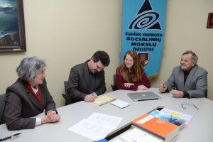 KU kurs jungtinę magistrantūros studijų programą su JAV Valdosta universitetu