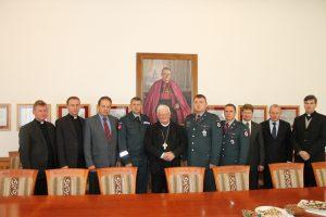 Policija prašo kunigų prisidėti prie saugaus eismo stiprinimo