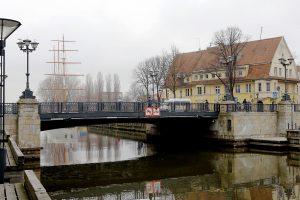 Uostamiestyje remontuoja Biržos tiltą