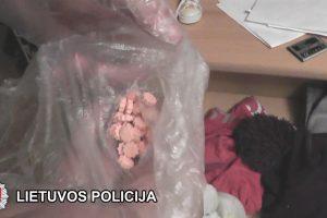 Uostamiestyje bus teisiama sąvadavimu ir narkotikų platinimu įtariama pora
