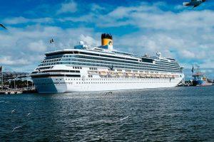 Uoste lankysis net keturi kruiziniai laivai
