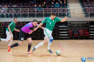 Lietuvos salės futbolo A lygos mače įmušė net vienuolika įvarčių