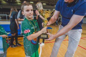 Lietuvos darželinukų krepšinio čempionate triumfavo kauniečiai
