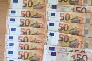 Ieškomas tūkstančio eurų savininkas