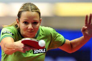 Lietuvos stalo teniso moterų komanda pralaimėjo serbėms