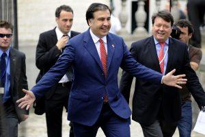 M. Saakšviliui Amsterdame išduotas leidimas gyventi ES