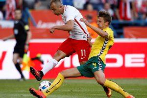 E. Girdvainio vienuolikės lygiosios Lenkijos futbolo elite